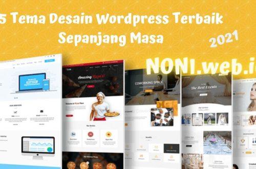 5 Tema Desain Wordpress Terbaik Sepanjang Masa