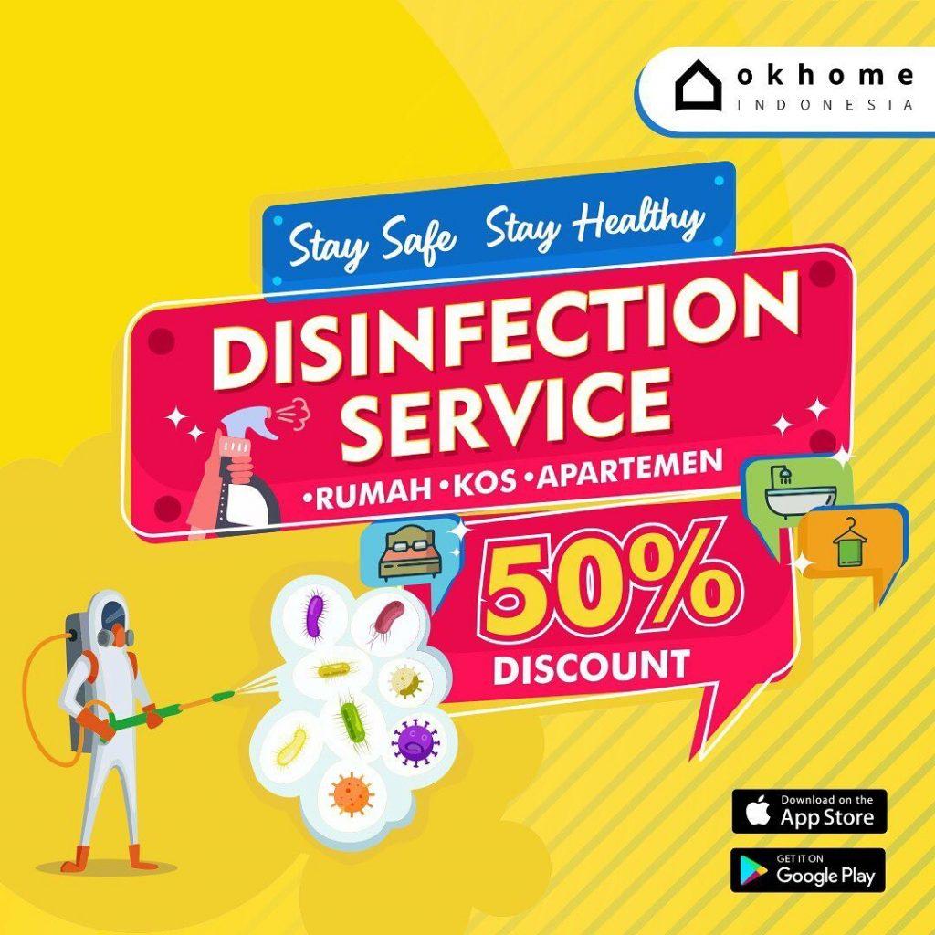 Layanan Disinfektan dari OKHOME